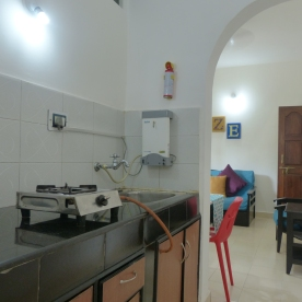 Laze- Kitchen and living room