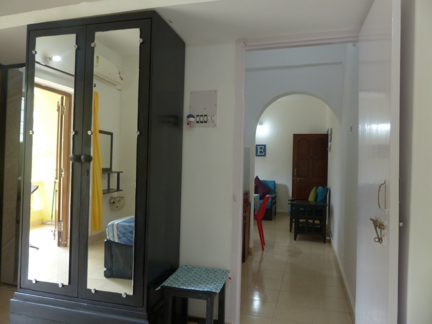 Laze- main door from the bedroom