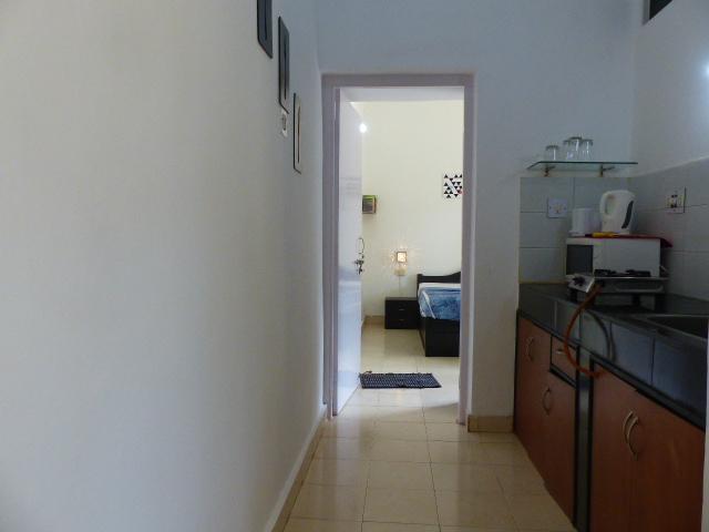 Laze- Kitchen and bedroom