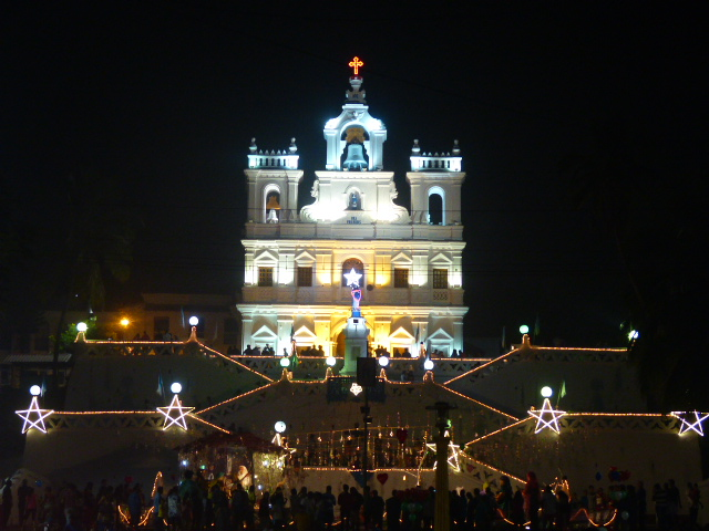 Our Lady of Immaculate Conception Church on Christmas