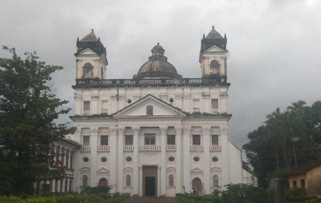 St Cajetan facade, Old Goa